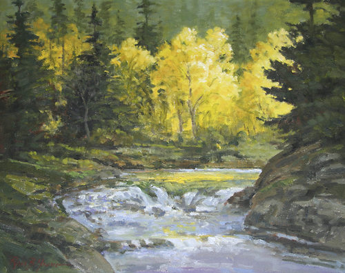 [ Landscape Art Oil Painting ]